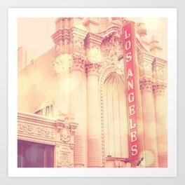 Los Angeles Theatre photograph Art Print