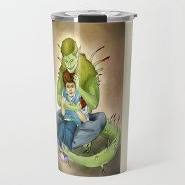 Closet monster!Dean Travel Mug