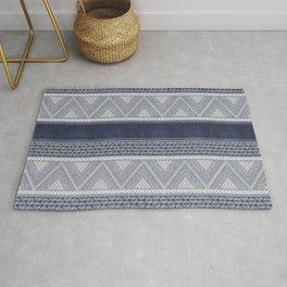 Dutch Wax Tribal Print Rug