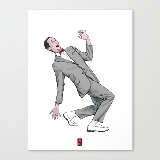 Pee Wee Herman #2 Canvas Print