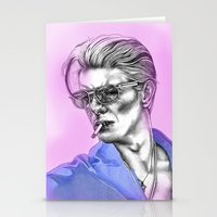 bowie Stationery Cards featuring Bowie  by Lucy Schmidt Art