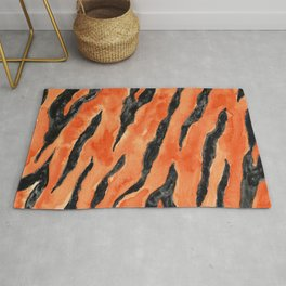 Tiger Stripes (Orange/Black) Rug