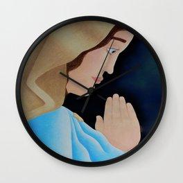 Mary of Nazareth Wall Clock