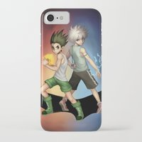 hunter x hunter iPhone & iPod Cases featuring Hunter x Hunter by Fishiebug