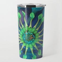 Passion Flower Watercolor Travel Mug