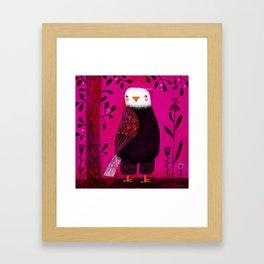 STANDING EAGLE Framed Art Print