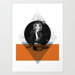 Suzy Parker Art Print