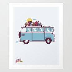 Road to the Big City Art Print