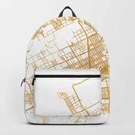 CANCUN MEXICO CITY STREET MAP ART Backpack