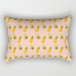 Avocado pineapple mix Rectangular Pillow