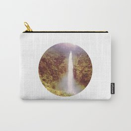 Round Waterfall Carry-All Pouch