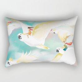 Safe Travels Rectangular Pillow