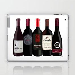 Red Wine Bottles Laptop & iPad Skin