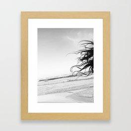Tulum Hair Framed Art Print
