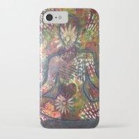 namaste iPhone & iPod Cases featuring Namaste by Tiffany Alcide