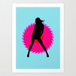 Hot Spot II Art Print