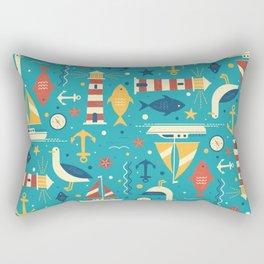 All At Sea Rectangular Pillow