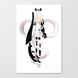 The Gentle Serpent, Ananke Canvas Print