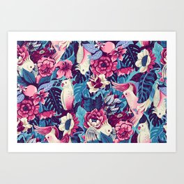 Florida Tapestry Art Print