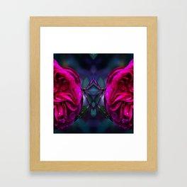 double flo cv Framed Art Print