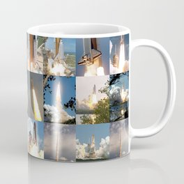 Shuttle Montage Coffee Mug