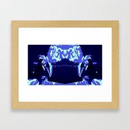 inkblot 3 Framed Art Print