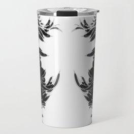 Soft Lines(B&W) Travel Mug