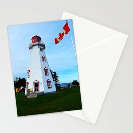 Lighthouse Panmure Island Stationery Cards