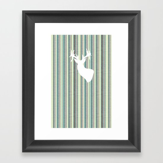 Staggered Framed Art Print