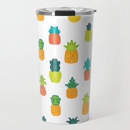 Cloth Pineapple Neck Gaiter Travel Mug