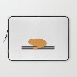 Happy Cat Nap Laptop Sleeve