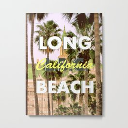 Long Beach, California V.R. Metal Print