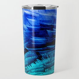 RUFFLED BLUE Travel Mug
