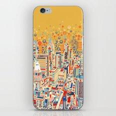 philadelphia city skyline iPhone & iPod Skin