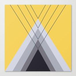 Iglu Primrose Yellow Canvas Print