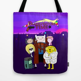 Blade-venture Time Tote Bag