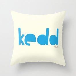 days | kedd Throw Pillow