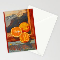 3 Oranges Stationery Cards