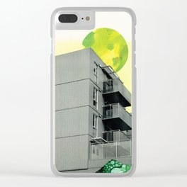 Scorching Sun Clear iPhone Case