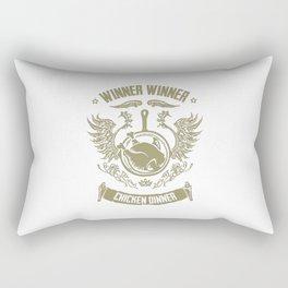 WINNER WINNER CHICKEN DINNER Rectangular Pillow
