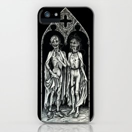 Dead Lovers (after Matthias Grünewald) iPhone Case