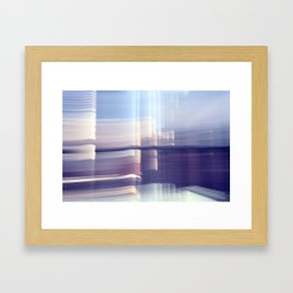 SIX.  Framed Art Print