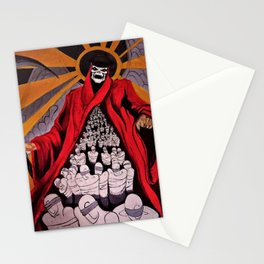 Resistencia, Fight the Power that be political oppression protest art by Rod Waddington Stationery Cards