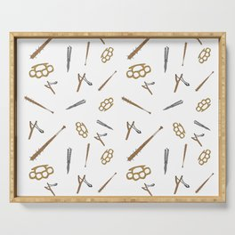 Weapons Pattern Serving Tray