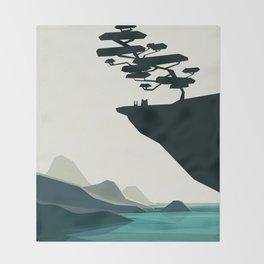 beauty trumped vertigo Throw Blanket