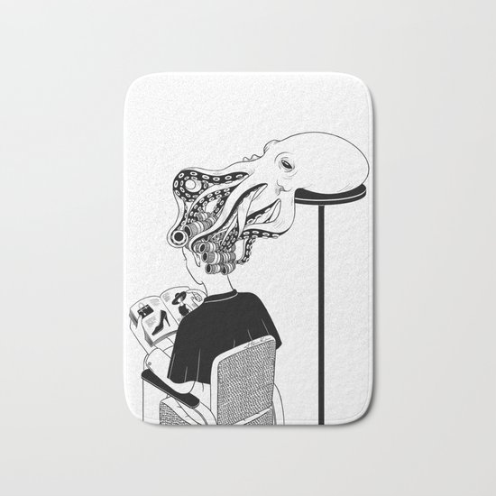 Octopus Salon Bath Mat