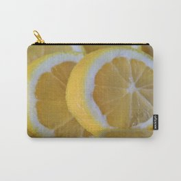 Love Lemons Carry-All Pouch