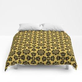 Primrose Yellow Floral Comforters