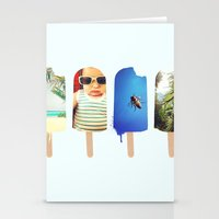 popsicle Stationery Cards featuring Popsicle by Jemma Pope