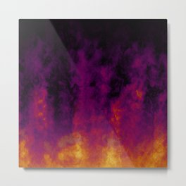 Warm Flames Metal Print